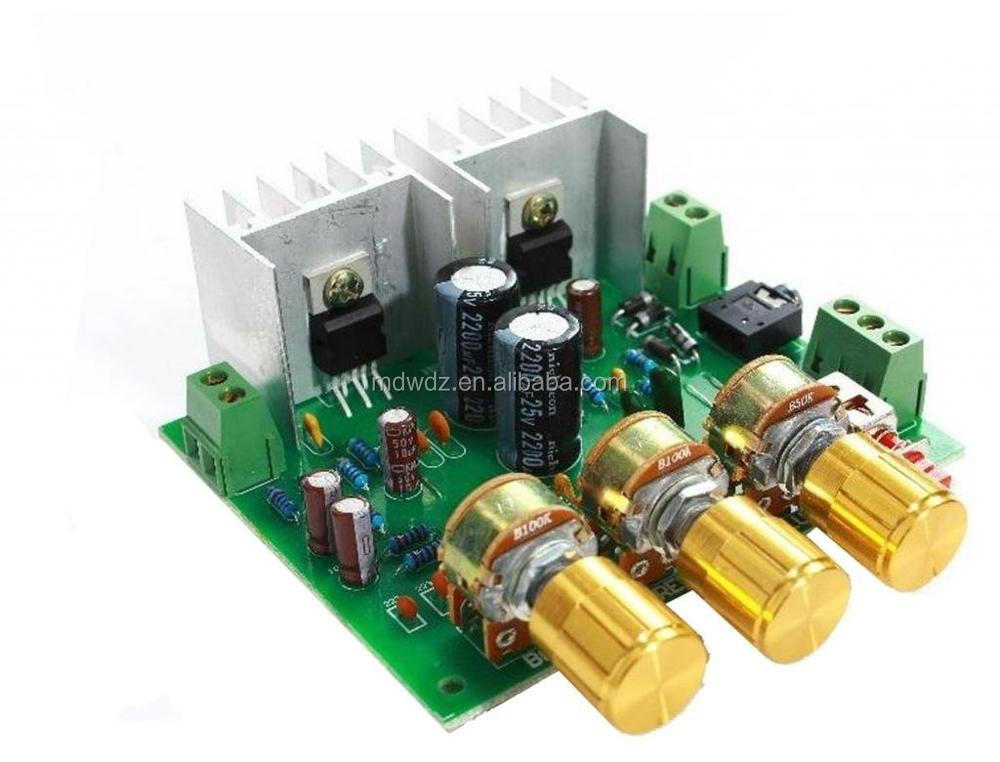2 Channel 2.0 15W+15W TDA2030A Hifi Stereo Amplifier AMP Board DIY Kit