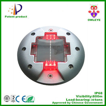 solar powered road lighting,led solar powered blinking light for road,solar road light for Europe market