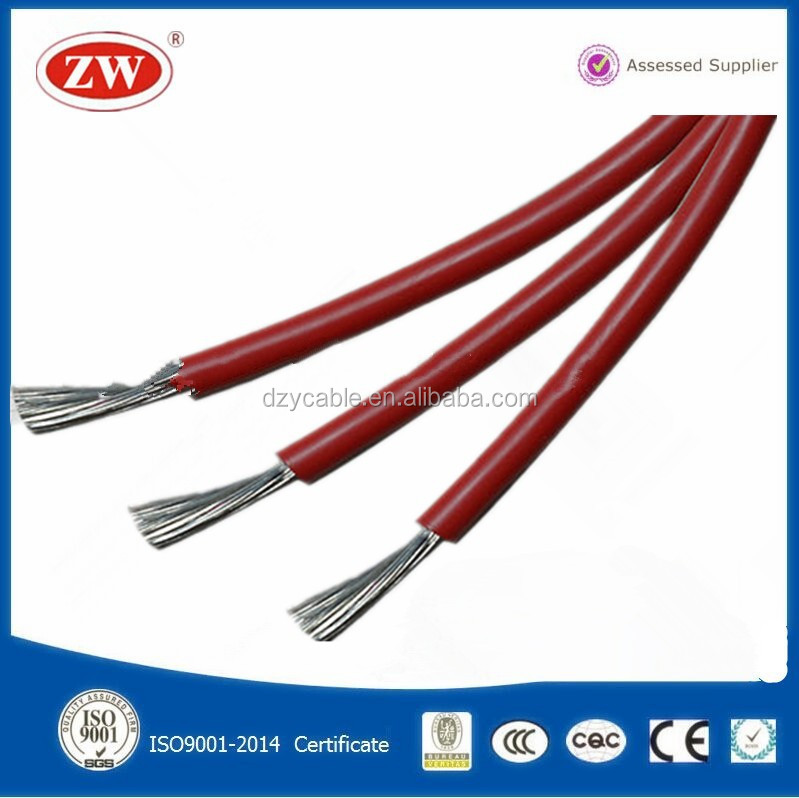 High temperature silicone rubber heat resistance insulation wire