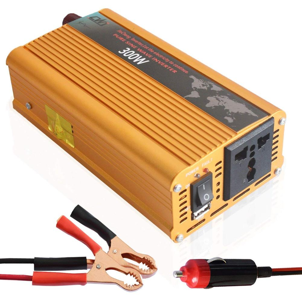 Cnikesin Off Grid Dc 12v 24v To 110v 220v 300w Pure Sine Wave How Make A Simple 200 Watt Modified Inverter Circuit 1