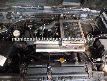 Jdm Used Engine Amp Ecu Half Cut Front Clip For Pajero 4m40 border=