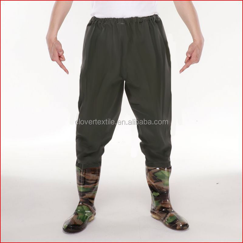 Large size Breathable fishing wader clothing stocking foot waders