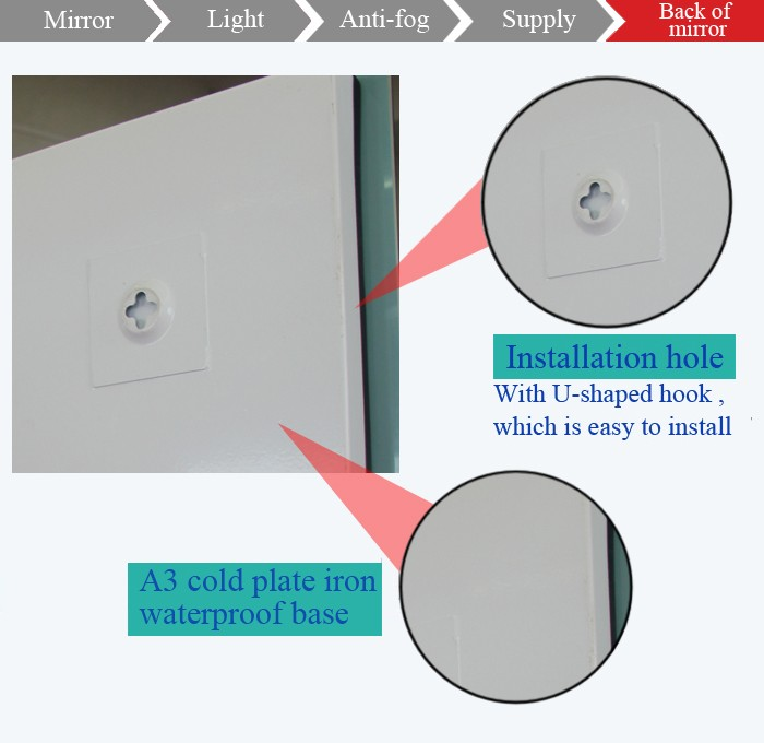 Bathroom Lights Pakistan anti fog shower shaving mirror,pakistan bathroom sanitary fittings