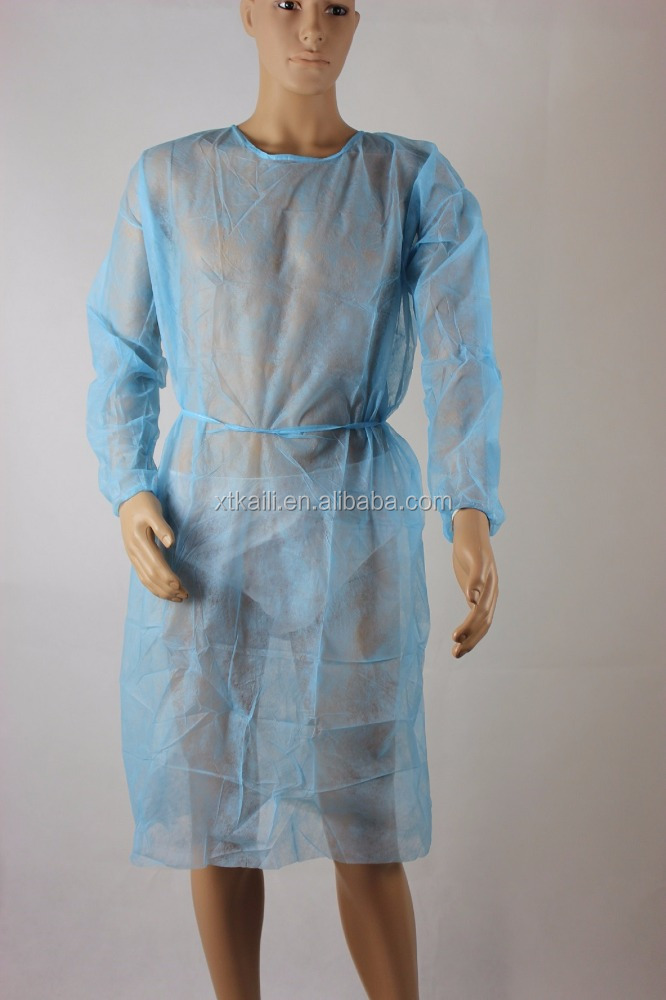 Mess sale for disposable blue surgical gown