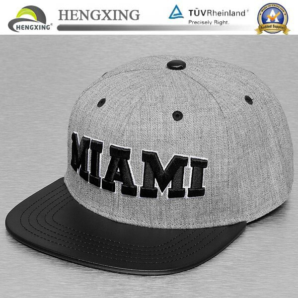 Hengxing Wholesale cotton embroidery snap back caps