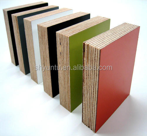 Muebles grado melamina madera contrachapada verde - Madera contrachapada precio ...
