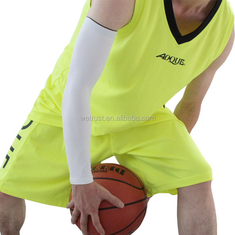 Cheap Arm Sleeve Elastic Breathable Basketball Sports Compression Arm Sleeve