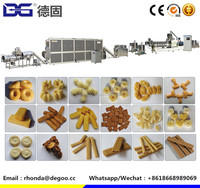 Automatic cheese puffs extruder choco pillow snacks manufacturer machine