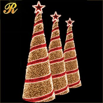 2017 new christmas tree decoration artificial giant led lighted christmas xmas tree outdoor types of decorative - Wire Lighted Outdoor Christmas Decorations