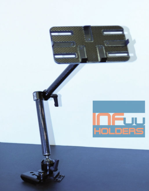 CARBON Car Holder Mount for iPad 2 3 4 5 Tablet-PC Galaxy Tab Note Nexus