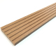 Embossed wpc fascia board for decking