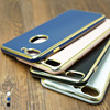 HS 4 colors Luxury electroplating soft back mobile phone case for iphone 6 6 plus 7 7plus tpu