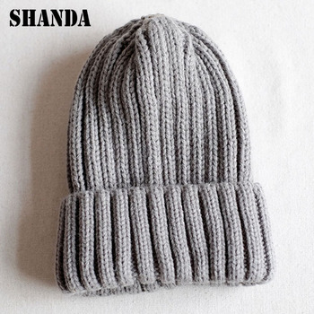 Winter Thick 100 Acrylic Blank European Style Winter Hat Wholesale ... 2ef68d5b6