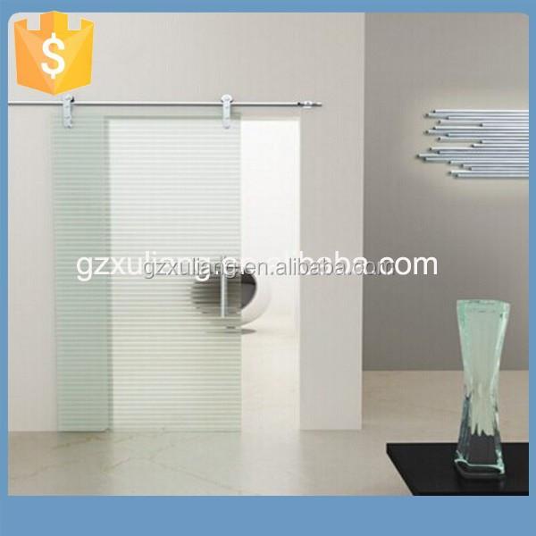 Porta scorrevole in vetro con guida smerigliato della porta scorrevole in vetro satinato porta - Serranda porta finestra ...