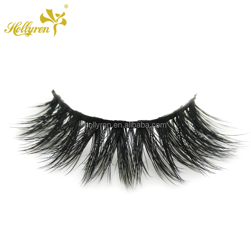 Wholesale Private Labeling Makeup 3D Mink Strip Eye Lash
