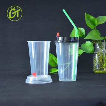 Whole Cola Plastic Gl With Straws Disposable Cups For Lemonade Custom Dome Lids