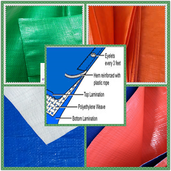 Outdoor Gear Der Thick Multi-Purpose Waterproof Reinforced Rip-Stop Blue Tarp,170g /m2