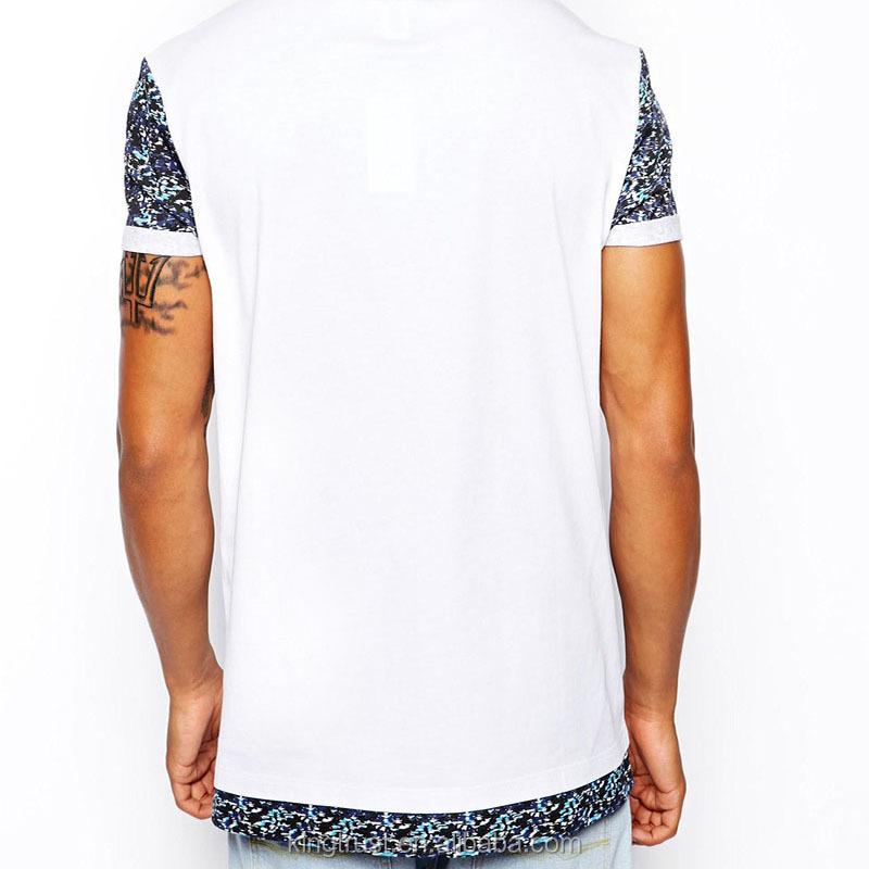 Bulk Wholesale T Shirts Sublimation Printed Pocket T Shirt Custom ...