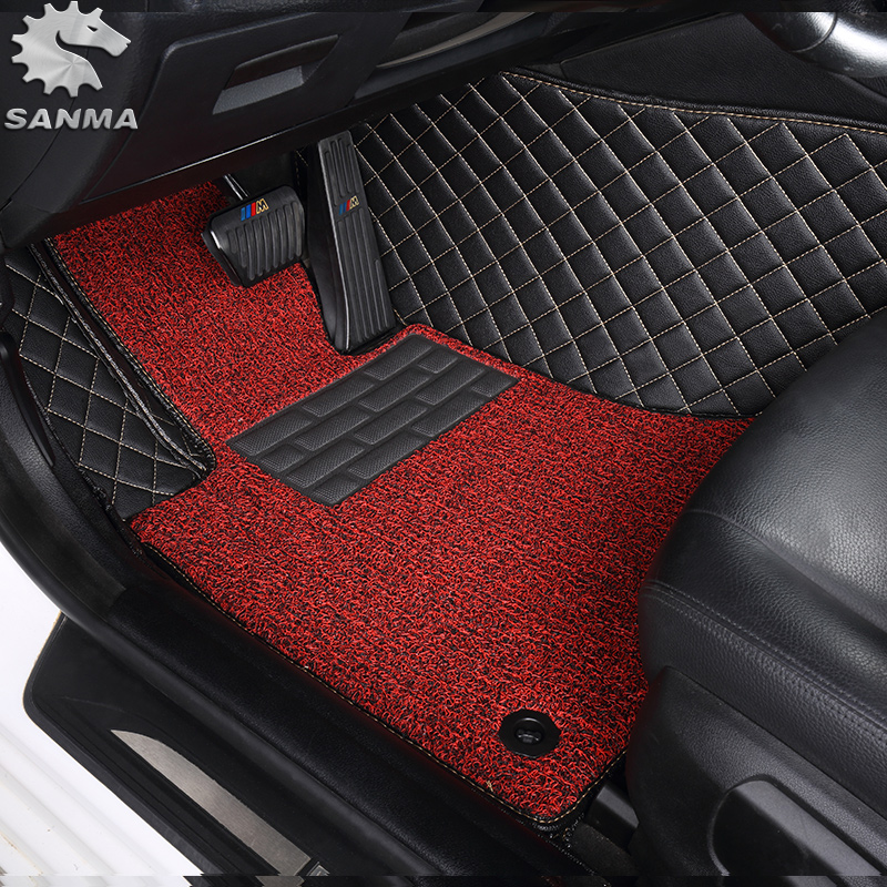 negro y rojo recortar Coche Tapetes Vauxhall VXR8 07-09