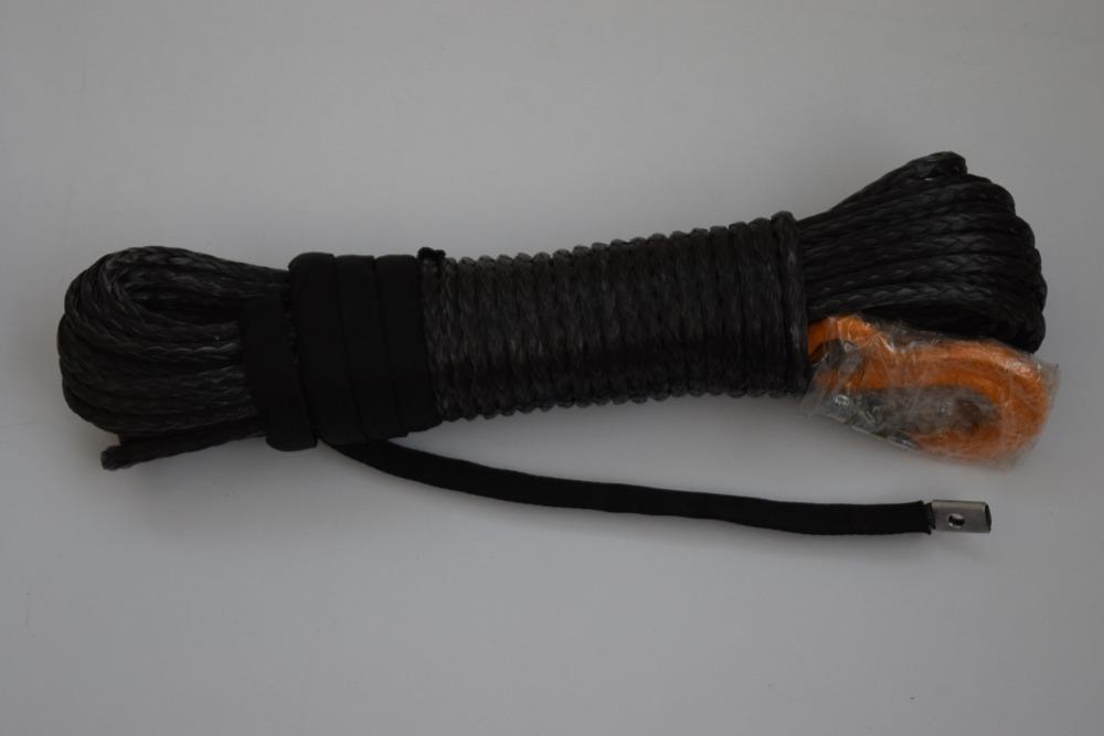 Черный 5/16 * 100ft синтетический трос, 4wd плазменный лебедки кабель, Amsteel веревка для 4wd
