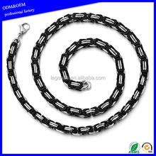 Fashion wholesale men's stainless steel Chain Necklace Jewelry