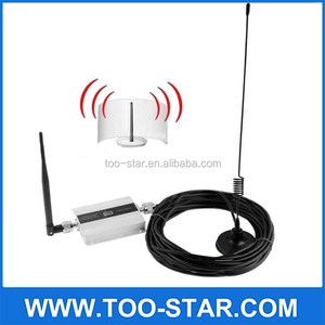 900Mhz GSM Mobile Phone Signal Booster Amplifier With LCD Antenna EU Plug
