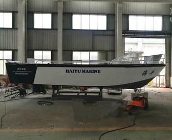 aluminum work boat V hull fishing boat for sale, View V hull