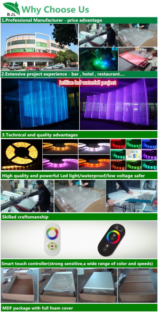 luxury led bubble bar table for night club furniture