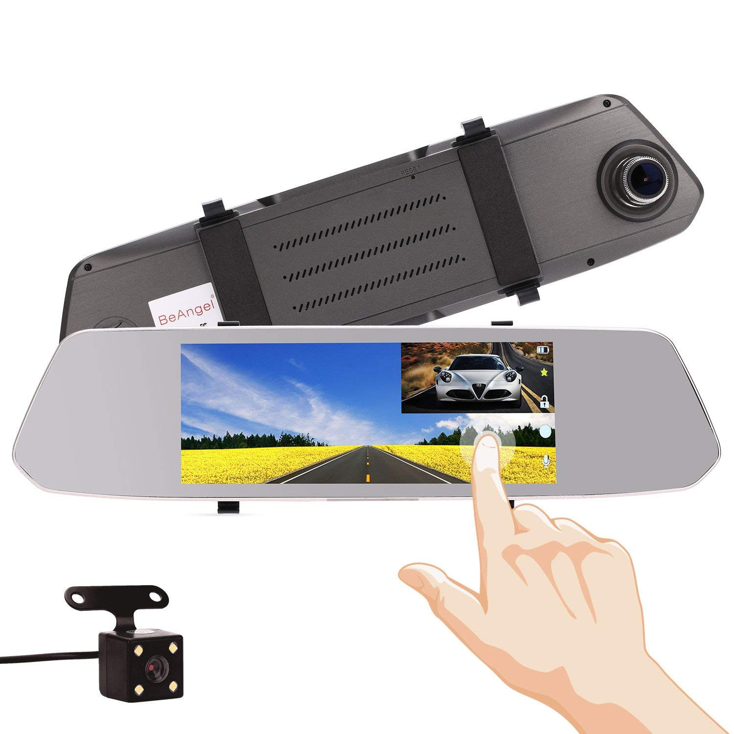 Car & Truck Parts 4-way Video Car Switch Parking Camera 4 View Image Split-screen Control Box Kits Elegant In Style Parts & Accessories