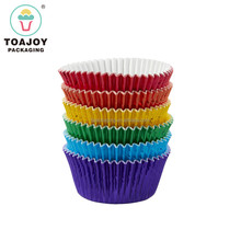 Promotion Wholesale Wedding Event Foil Paper Baking Cups, Cupcake Liners, Muffin Paper Trays