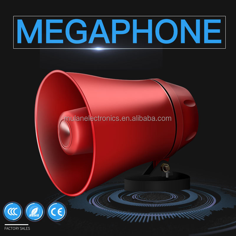 Hot sale Plastic Horn Speakers Waterproof Megaphones