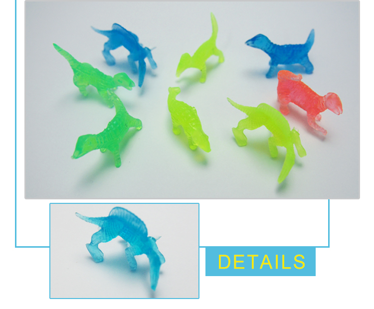 china manufacturer colorful soft rubber mini plastic toy dinosaur set for collection