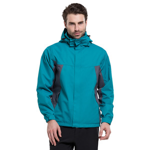 Heavy Duty Nylon Jackets Wholesale Blank Outdoor Jacket for Men Custom Windbreaker Jacket