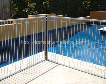 Aluminium Portable Safety Pool Fence For Child