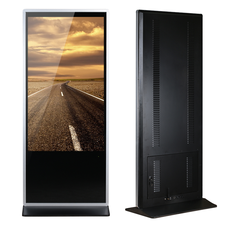 Lcd Floor Standing  Advertising Touchscreen Monitor Inside Computer