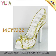 Golden Shoe 2014 Wedding Favor High End Jewelry Displays