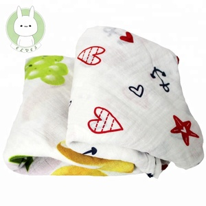 High quality breathable soft baby muslin security blanket