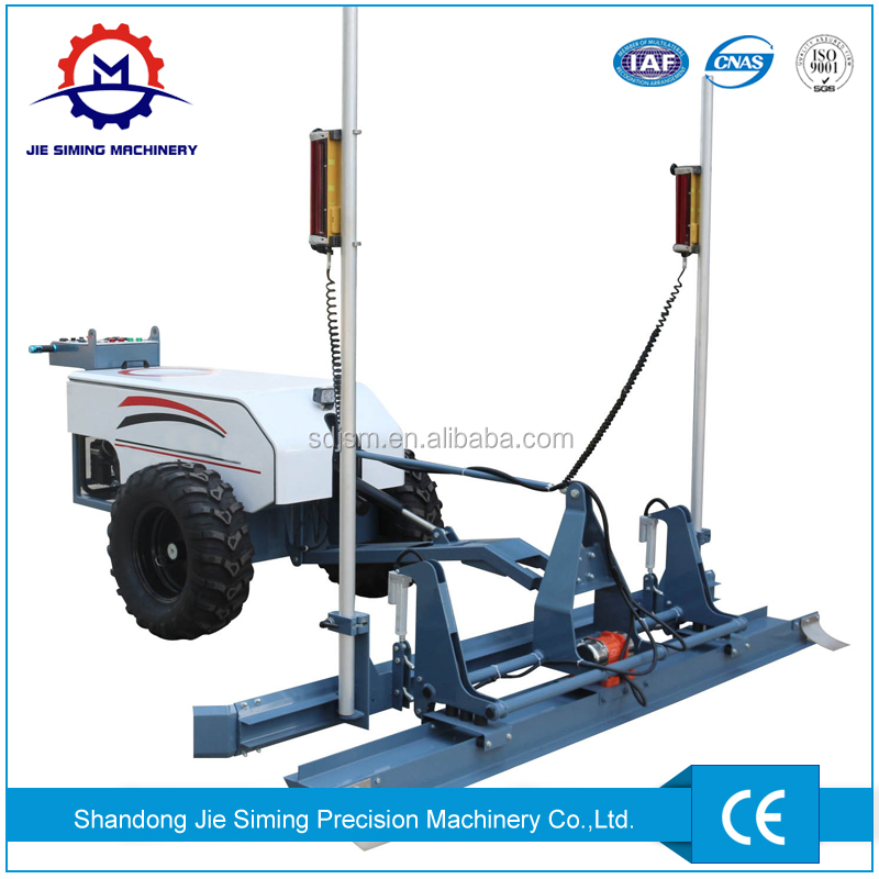 Cement laser self leveling machine concrete laser screed for sale