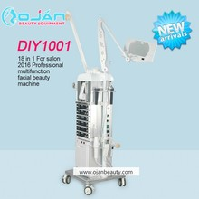 China beauty salon equipment DIY1001 18 In 1 multifunction facial Beauty Salon Equipment