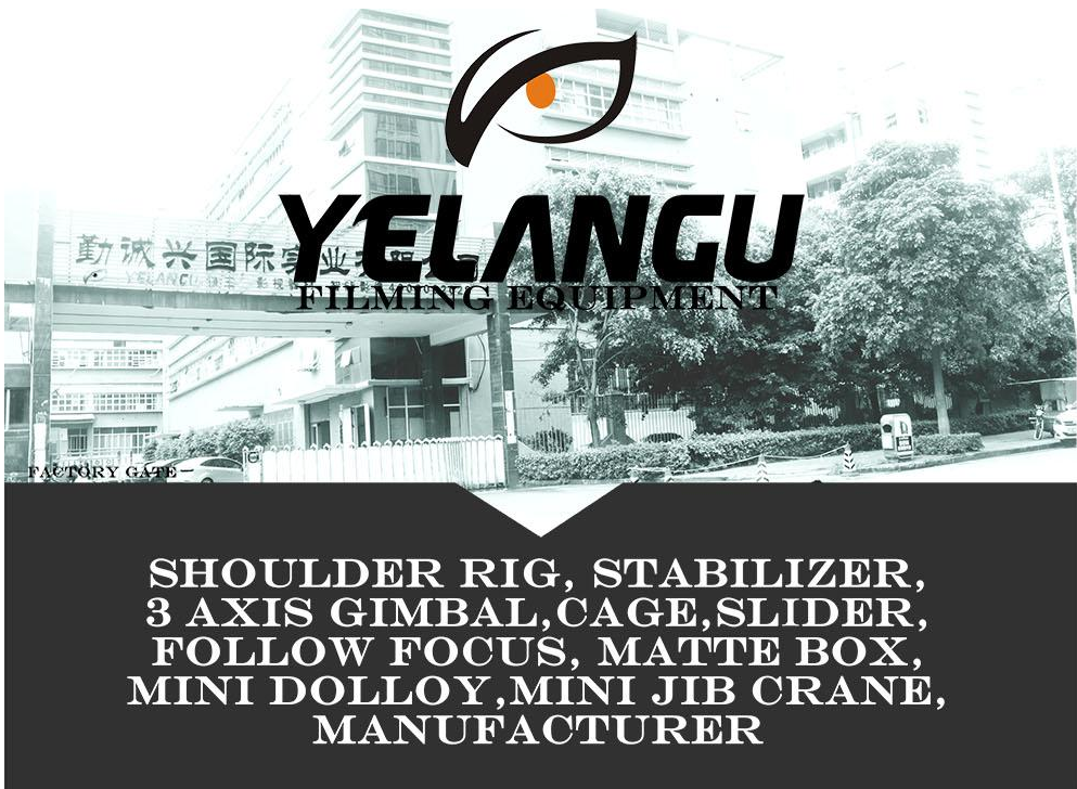 Hot Sell YELANGU S60N Wholesale Handheld 60cm Stabilizer for Camcorder Fashion DV Video Camera Stabilizer Dslr Steadicam
