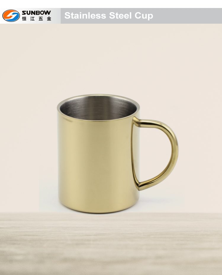 OEM double wall stainless steel cup