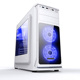 ATX Gamer PC case with Acrylic front panel semi transparent side panel