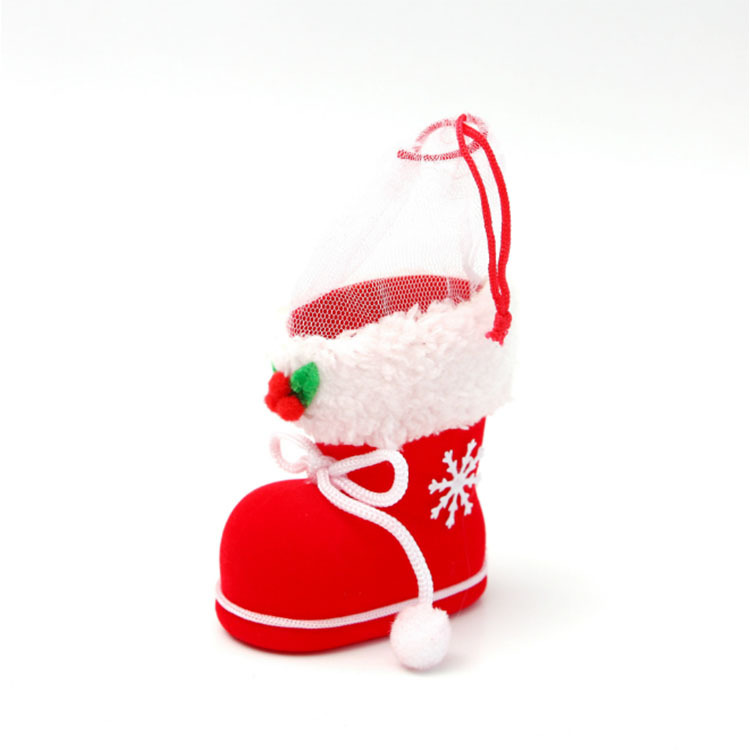 Wholesale Christmas Painted Decorative Pendant Christmas Tree Innovative Skates Ski Shoes Pendant Festival Home Decorations Diamond
