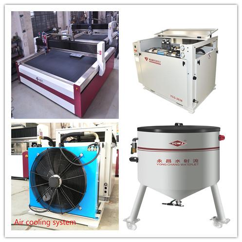 Cam kesme masası L3020 CNC su jeti temperli cam kesme makinesi