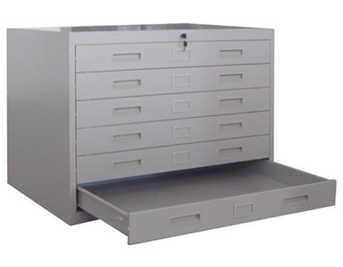 A0/A1 Size Horizontal Steel Plan File Cabinet
