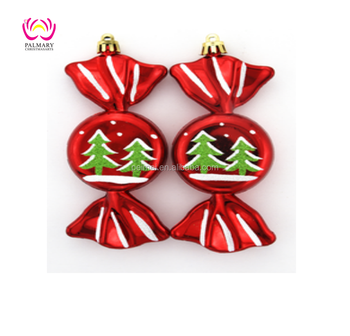18cm Candy Plastic Homemade Christmas Ornaments Decorations Home Decor Made In China