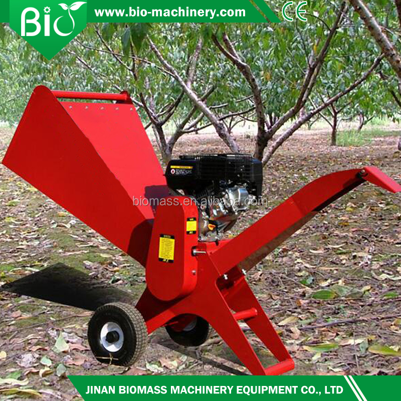 Garden used wood chipper,branch shredder 3kw,15-40hp for selection with lower price