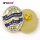 Metal badge maker wholesale enamel custom logo sheriff military metal pin badge