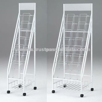 japanese office furniture. Japanese Office Furniture Display Rack Brochure Stand With Storage Space E