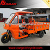 175cc metal semi-closed cabin cargo tricycle